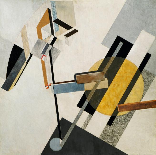 El Lissitzky (Russian, 1890-1941) 'Proun 19D' 1920 or 1921