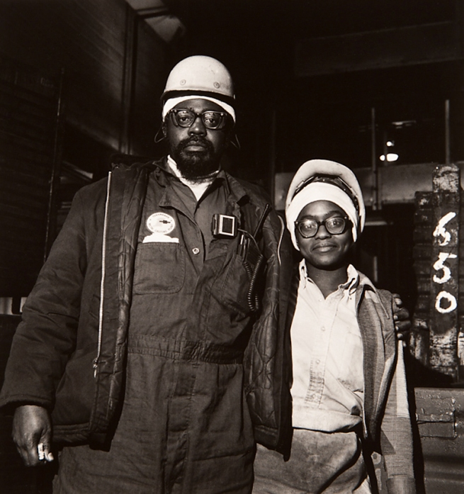 Milton Rogovin (1909-2011) 'Untitled' from the series 'Working People, Chevy' 1977-78