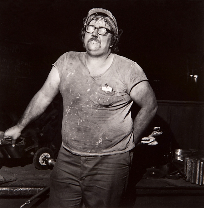 Milton Rogovin (1909-2011) 'Untitled' from the series 'Working People: Atlas Steel, Frank Andrzewski' 1978-79