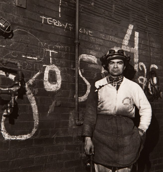 Milton Rogovin (1909-2011) 'Untitled' from the series 'Working People: Atlas, Jose' 1978-1979
