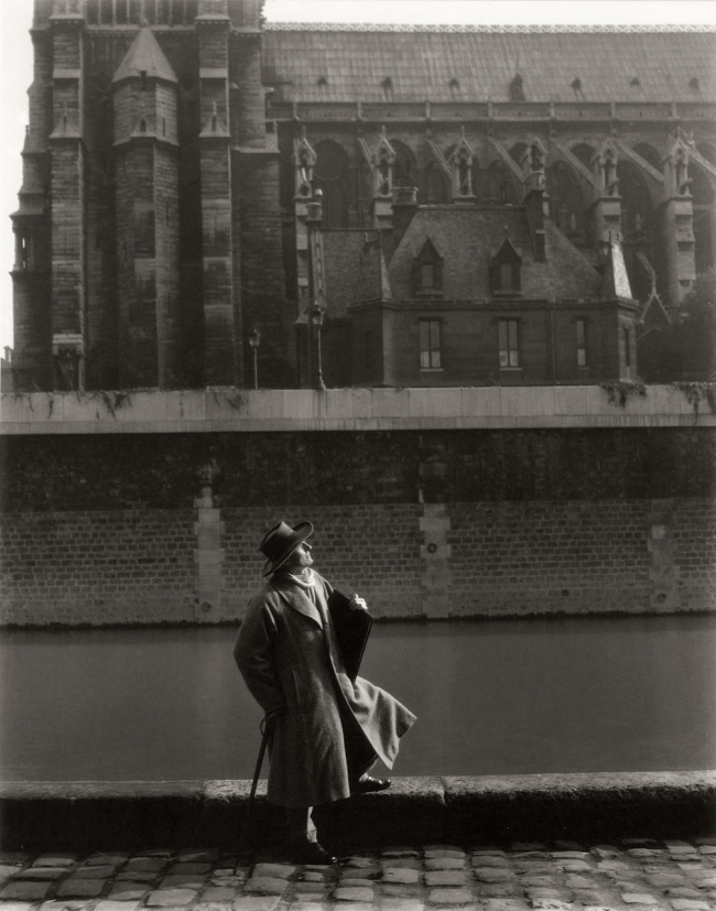 Edward Steichen (1879-1973) 'E. Gordon Craig, Paris' 1920, printed in 1987
