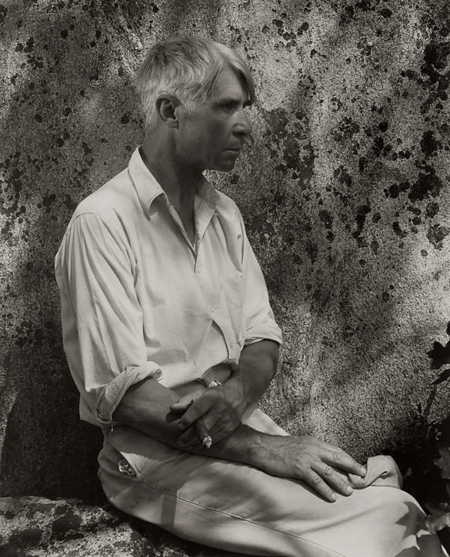 Edward Steichen (1879-1973) 'Carl Sandburg, Umpawaug, Connecticut' 1930