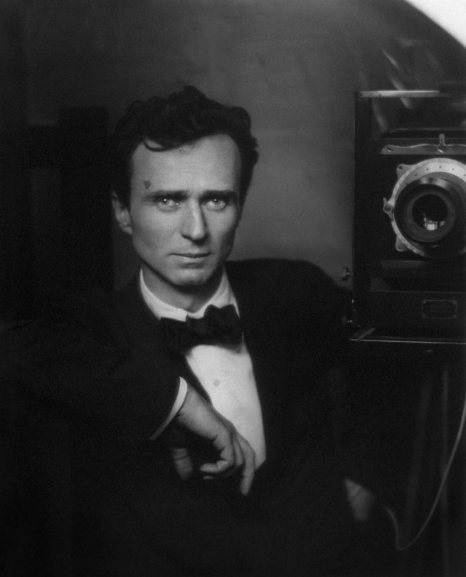 Edward Steichen (1879-1973) 'Self-Portrait with Studio Camera' 1917; printed 1982
