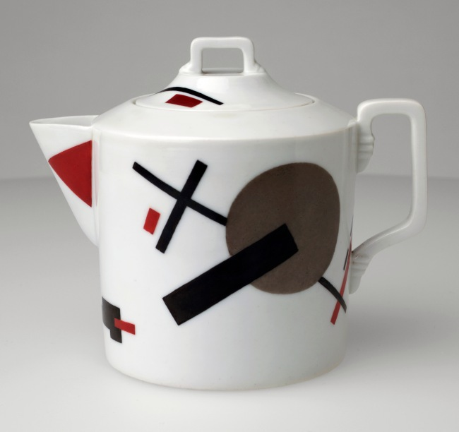 Nikolai Suetin (Russian, 1897-1954) 'Teapot' c. 1923