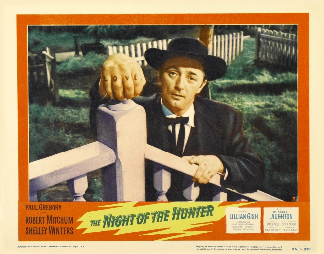 The Night of the Hunter film poster 1955