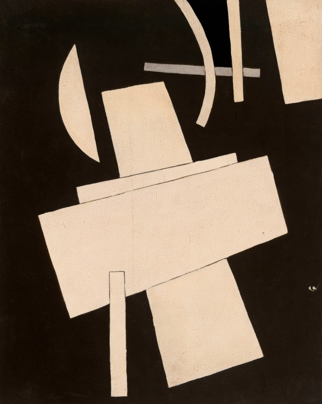Lyubov Popova (Russian, 1889-1924) 'Untitled' c. 1916-17