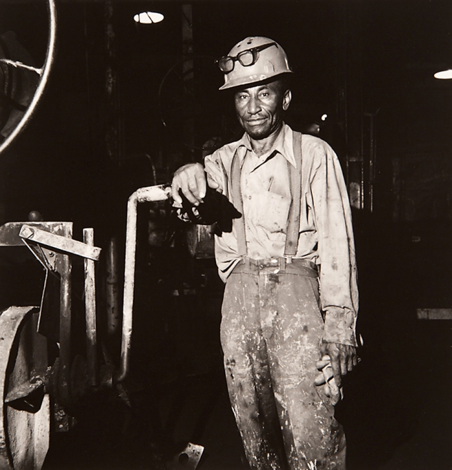 Milton Rogovin (1909-2011) 'Untitled' from the series 'Working People: Amherst Foundry' 1979