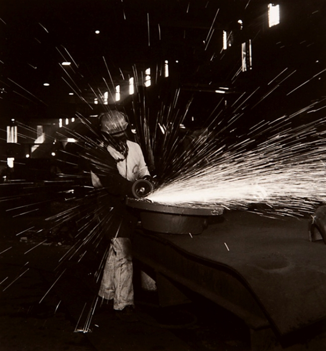 Milton Rogovin (1909-2011) 'Untitled' from the series 'Working People: Atlas, Jose' 1976