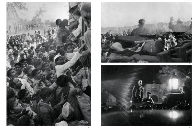 Henri Cartier-Bresson. 'Gandhi's funeral, Delhi, India, 1948'