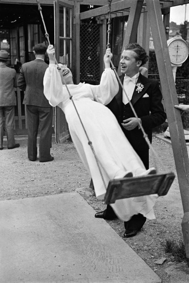 """Henri Cartier-Bresson. '""""Chez Gégène"""", Joinville-le-Pont, France, 1938'"""