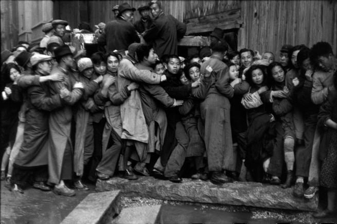 Henri Cartier-Bresson. 'es derniers jours de Kuomintang, Shanghai, Chine, décembre 1948 - janvier 1949'