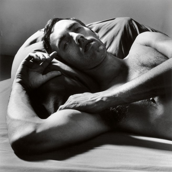 Peter Hujar. 'David Wojnarowcz Reclining (2)' 1981