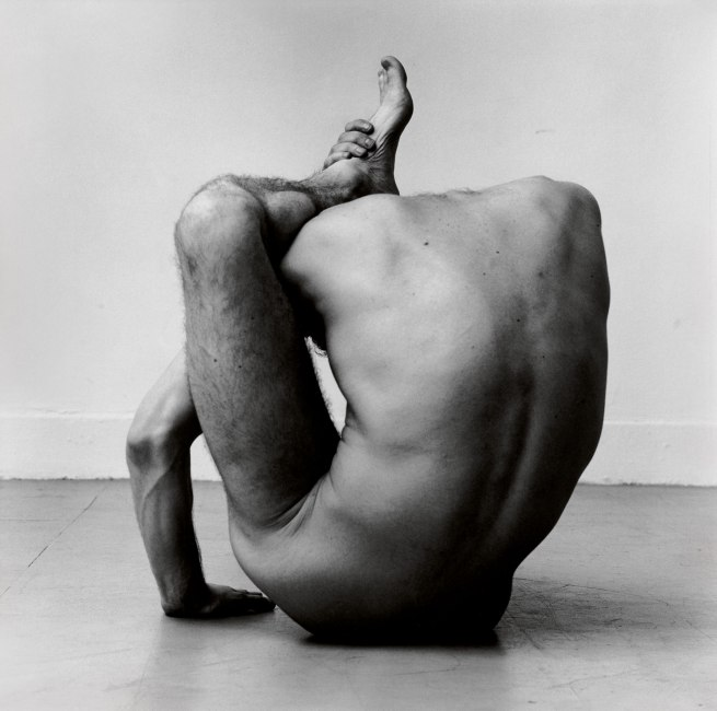 Peter Hujar. 'Gary in Contortion (1)' 1979