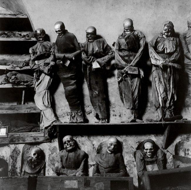 Peter Hujar. 'Palermo Catacombs (11)' 1963
