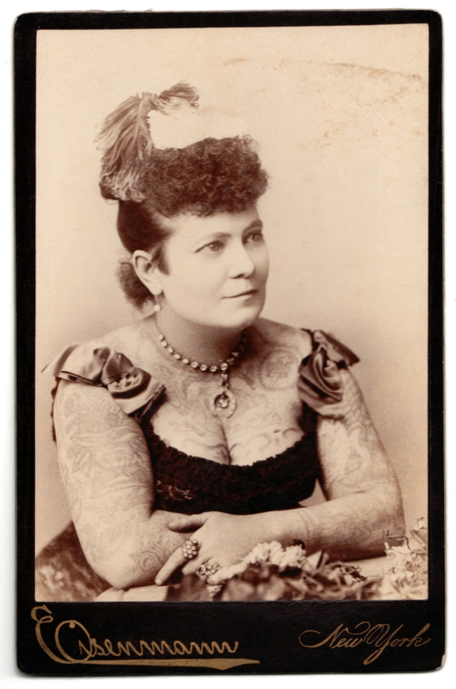 Charles Eisenmann (1855-1927) 'Nora Hildebrandt' c. 1880