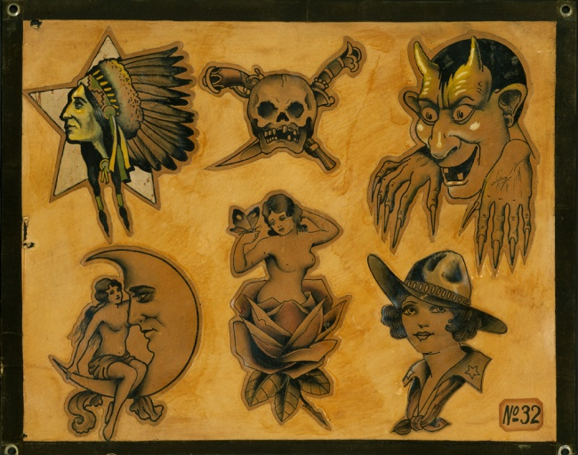 Bob Wicks (1902-1990) 'Flash sheet #36' c. 1930