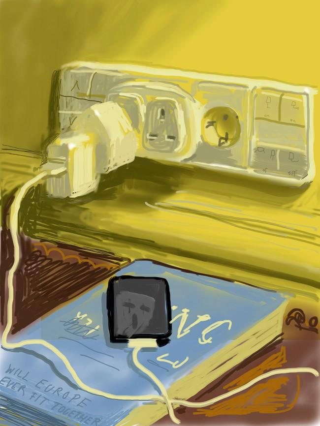 "David Hockney. ""Untitled, 22 January 2011"" iPad Drawing © David Hockney"