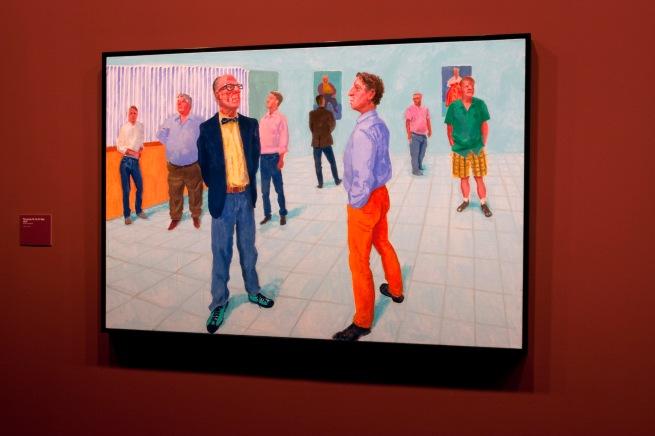 David Hockney (English 1937- ) 'The group VII, 20-27 May 2014'