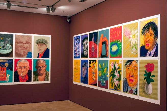 David Hockney (English 1937- ) 'iPad drawings' 2010-16