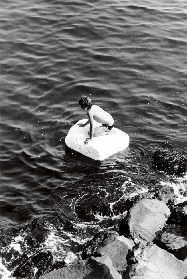 Peter Hujar. 'Boy on Raft' 1978