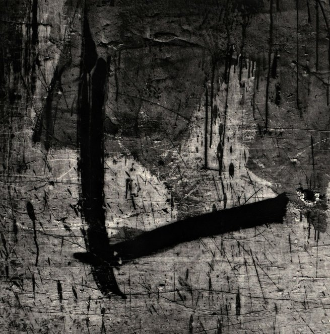 Aaron Siskind (American, 1903-1991) 'Lima 89 (Homage to Franz Klein)' 1975