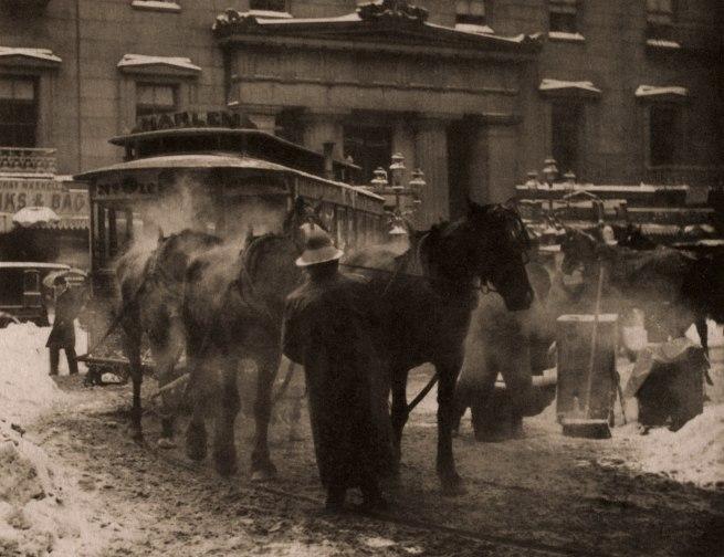 Alfred Stieglitz (American, 1864-1946) 'The Terminal' 1893