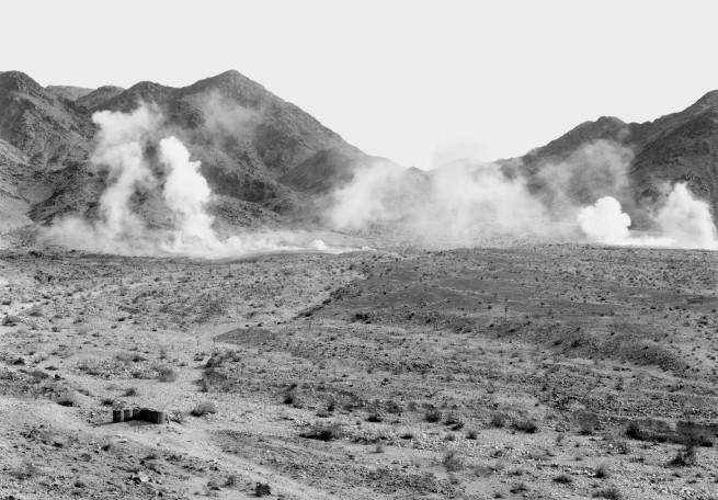 An-My Lê (American, born Vietnam 1960) '29 Palms: Mortar Impact' 2003-04