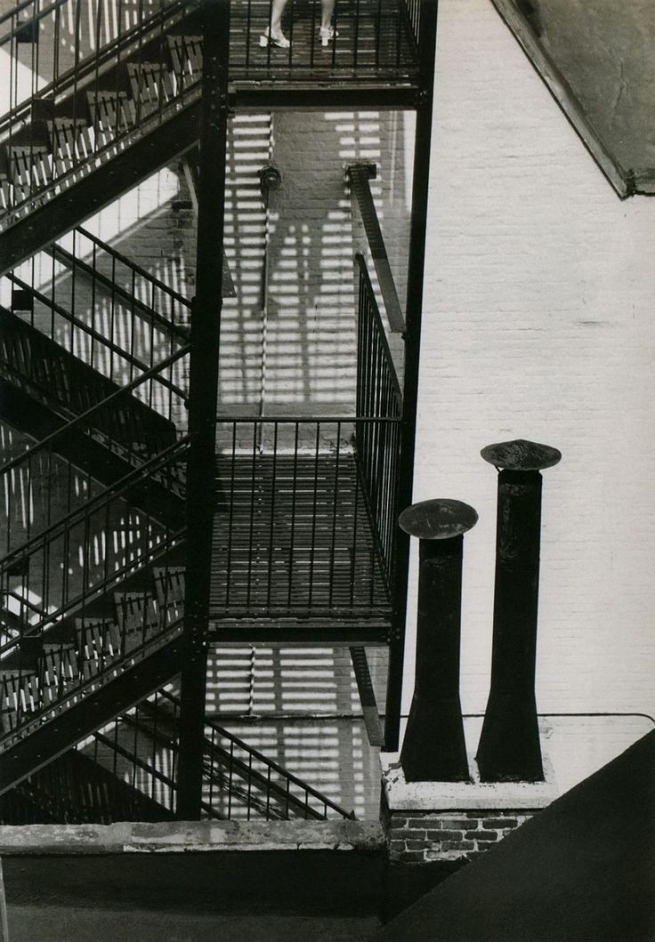 André Kertész (American, born Hungary. 1894-1985) 'New York' August 10, 1969