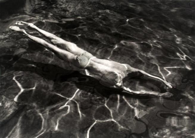 André Kertész. 'Underwater Swimmer, Esztergom, Hungary, 30 June 1917' 1917