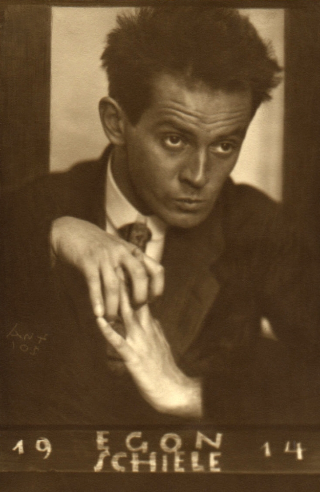 Anton Josef Trčka. 'Egon Schiele' 1914