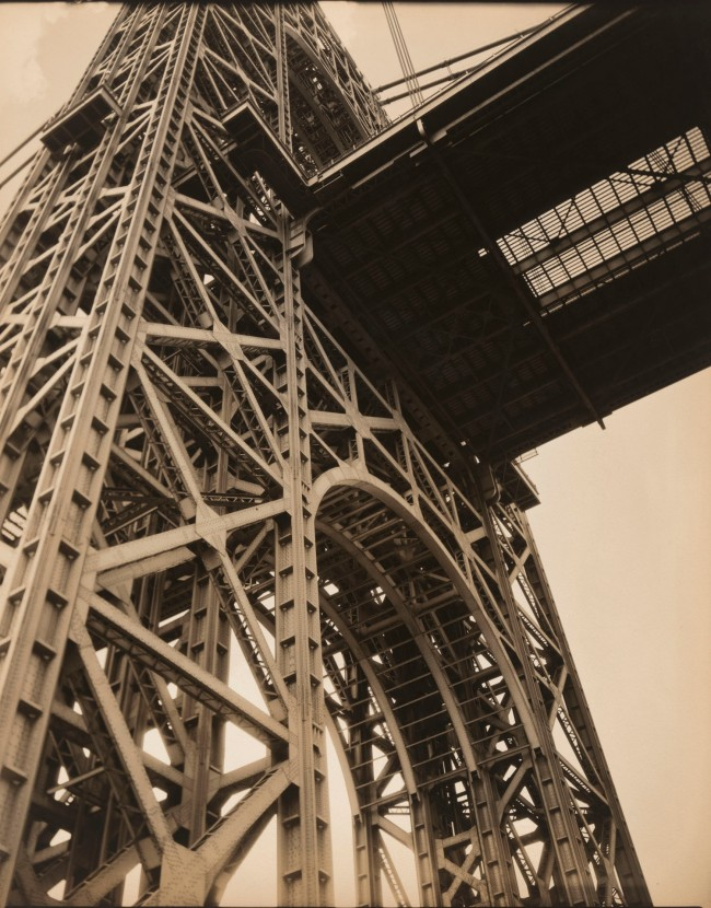 Berenice Abbott (American, 1898-1991) 'George Washington Bridge, Riverside Drive and West 179th Street, Manhattan' January 17, 1936