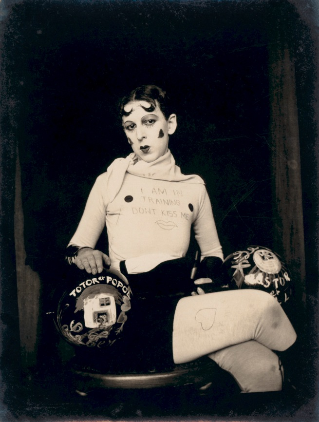 Claude Cahun. 'I am in training don't kiss me' c. 1927