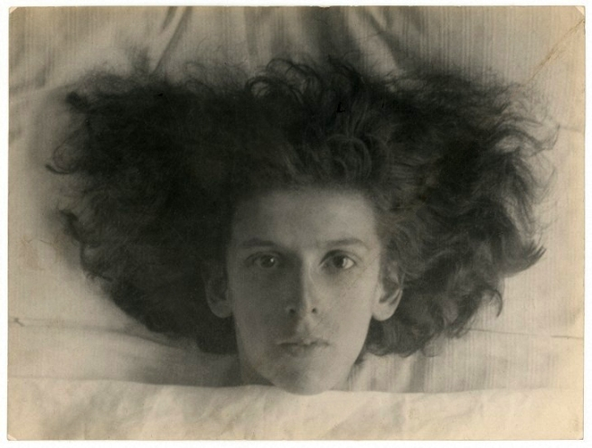 Claude Cahun. 'Self-portrait as a young girl' 1914