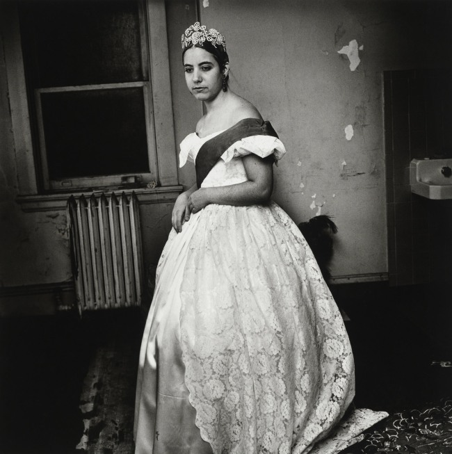 Peter Hujar. 'Cindy Luba as Queen Victoria' 1973