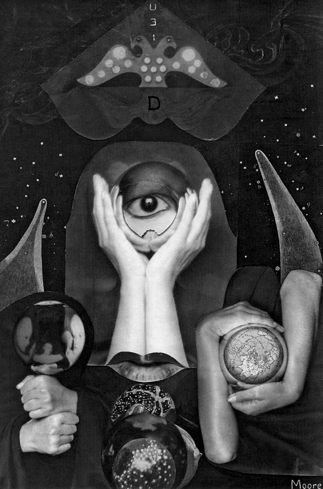 Claude Cahun in collaboration with Marcel Moore. 'Aveux non avenus frontispiece' 1929-30