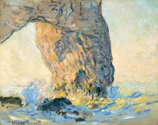 Claude Monet (1840-1926) 'Vagues a la Manneporte' c. 1885