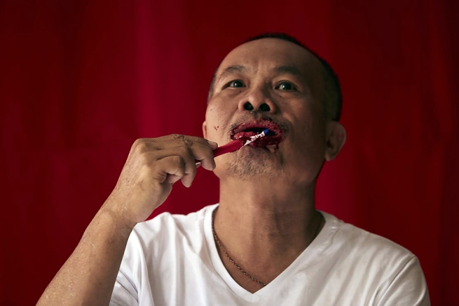 Dadang Christanto. 'Tooth Brushing' 1979-2015-2017