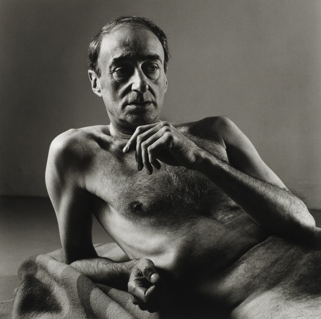 Peter Hujar. 'David Warrilow (1)' 1985