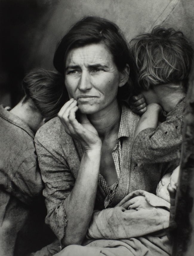 Dorothea Lange. 'Migrant Mother' 1936
