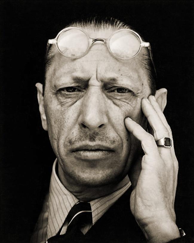 Edward Weston. 'Igor Stravinsky' 1935