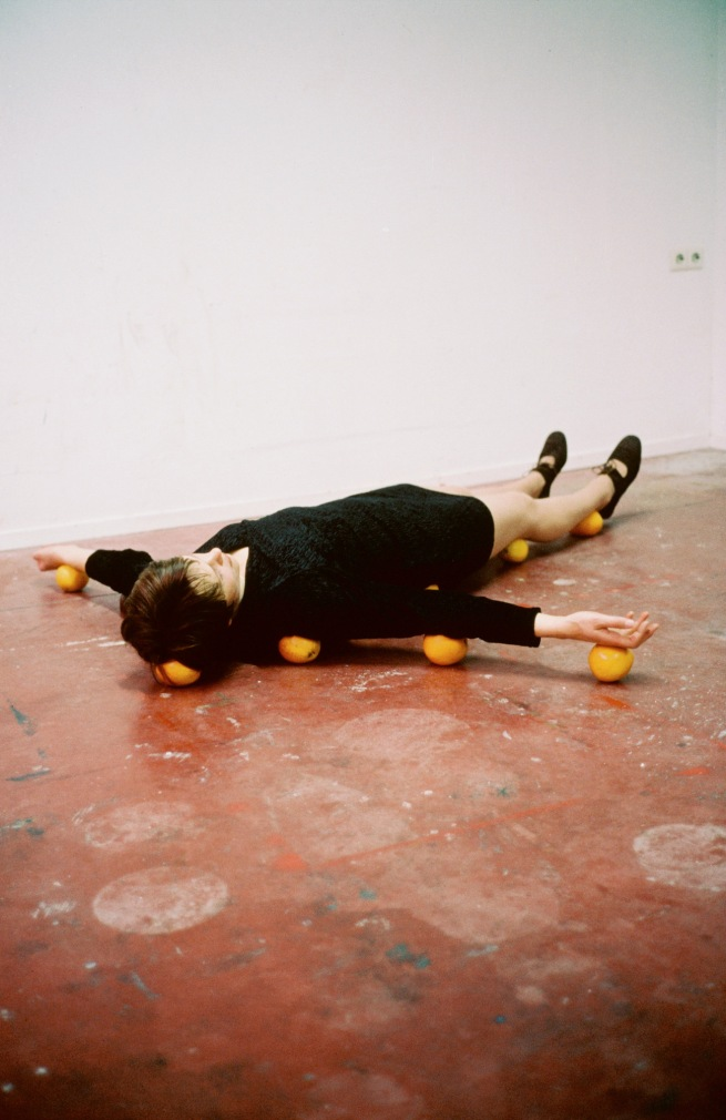 Erwin Wurm. 'One Minute Sculpture' 1997