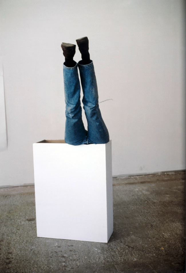 Erwin Wurm. 'One Minute Sculpture' 1997
