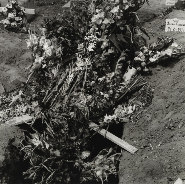 Peter Hujar. 'Flowers for the Dead, Mazatlán, Mexico (2)' 1977