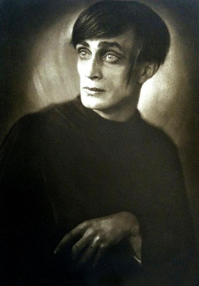 Franz Xaver Setzer. 'Conrad Veidt' 1919