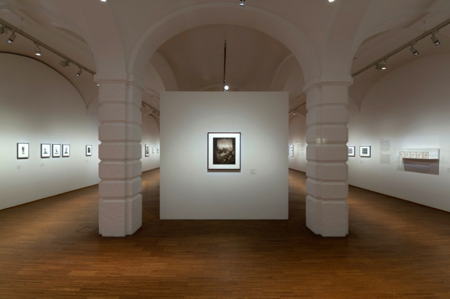 Installation view of the exhibition 'Acting for the Camera' at the Albertina, Vienna, March - June 2017