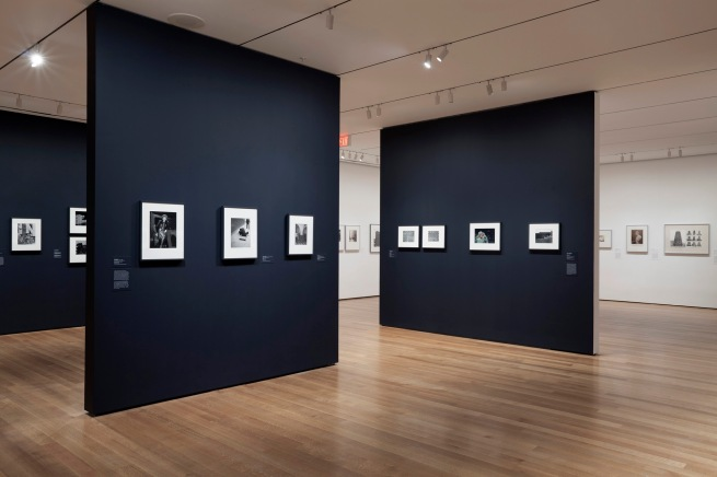 Installation view of 'The Shape of Things: Photographs from Robert B. Menschel' at The Museum of Modern Art, New York, October 29, 2016 - May 7, 2017