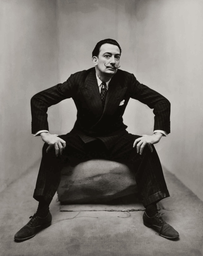 Irving Penn. 'Salvador Dali in New York' 1947