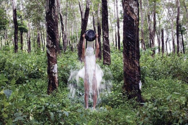 Khvay Samnang. 'Rubber Man #3' 2014