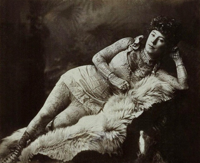 Unknown photographer. 'La Belle Irene' c. 1880s
