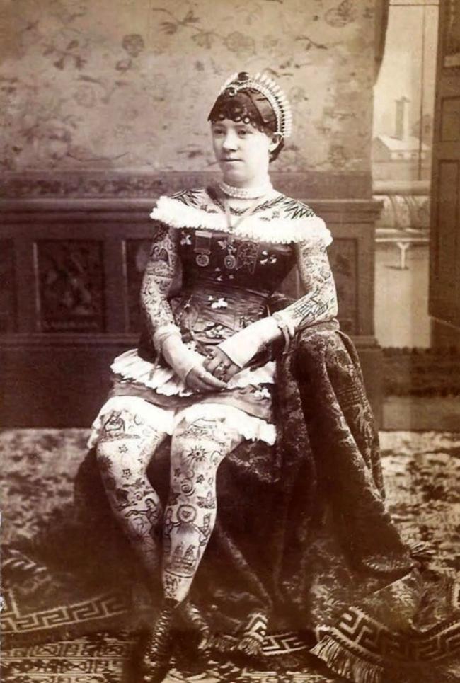 Unknown photographer. 'La Belle Irene' c. 1880s